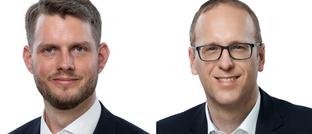 Andre Höck (l.) und Oliver Pfeil von EB Sustainable Investment Management