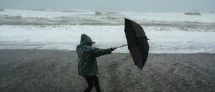 Unwetter mit Sturmflut