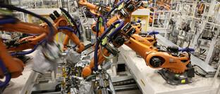 E-Autoproduktion im sächsischen Zwickau