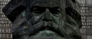Denkmal zu Ehren des deutschen Philosophen Karl Marx