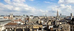 Blick über die EU-Hauptstadt Brüssel