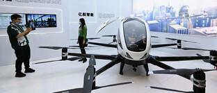 Elektrisches Flugtaxi der Firma Ehang