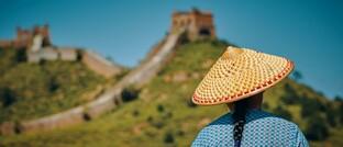 Abschnitt der Chinesischen Mauer