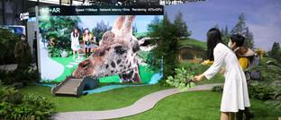 Virtueller Zoo auf Basis der neuen 5G-Technik