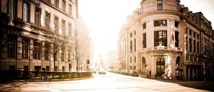 Innenstadt von Brüssel