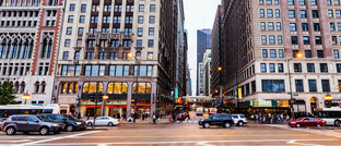 Einkaufsstraße in Chicago