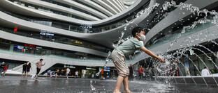 Shopping-Center im chinesischen Beijing