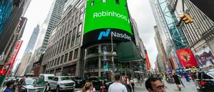 Gebäude der Technologiebörse Nasdaq in New York