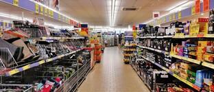 Supermarkt in Deutschland (Symbolbild)