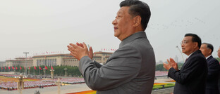 Staatsfeierlichkeiten zum 100. Jubiläum der Kommunistischen Partei Chinas am 1. Juli 2021