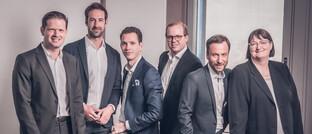 Das Team der neuen Fondsrechts-Kanzlei Orbit (v.l.)