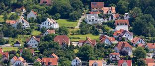 Wohnsiedlung im bayerischen Ebermannstadt
