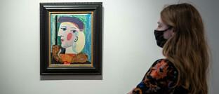 Picasso-Gemälde in einem Pariser Auktionshaus
