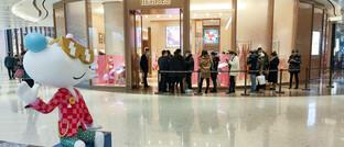 Hermès-Boutique in Shanghai