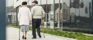Ein Rentenpaar