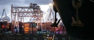 Europas größter Hafen Rotterdam
