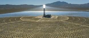 Solarpark bei Las Vegas, USA