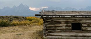 Grand Teton National Park bei Jackson Hole im US-Bundesstaat Wyoming