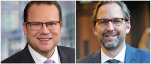 Martin Stenger und Martin Klein
