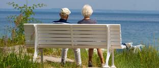 Senioren genießen ihren Ruhestand