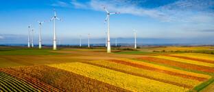 Windkraftanlagen des Wörrstädter Energieparks