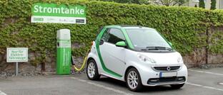 Ladestation für Elektroautos in Düsseldorf