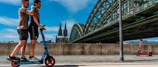 Junge Leute in Köln