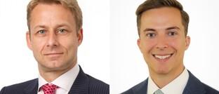 Michiel van Voorst (li.) und Bryan Satterly