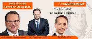 Riester vorm Ende - Kommt ein Staatsfonds?