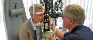 Augenärztliche Untersuchung