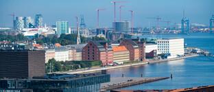 In Kopenhagen sowie in den meisten Städten Europas wird eifrig gebaut