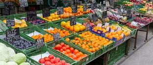 Obst und Gemüse am Wiener Naschmarkt