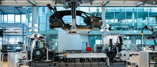 Einblick in die Elektroautoproduktion bei VW