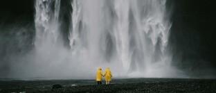 Urlauber in Island