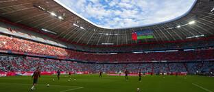 Das Fußballstadion des FC Bayern München