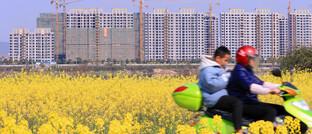 Neubauprojekt in der südostchinesischen Provinz Jiangxi