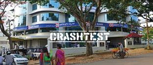 Niederlassung der indischen HDFC Bank in Miysore