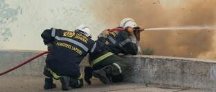 Waldbrandbekämpfung in Südfrankreich